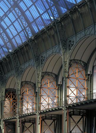 Grand palais des champs lys es perrot richard for Architecte grand palais