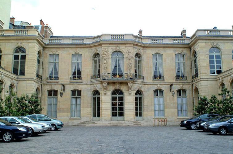 Hotel Rue Matignon Paris