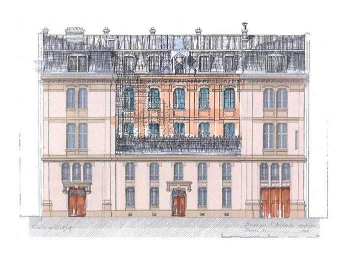 rue monsieur perrot richard architectes. Black Bedroom Furniture Sets. Home Design Ideas