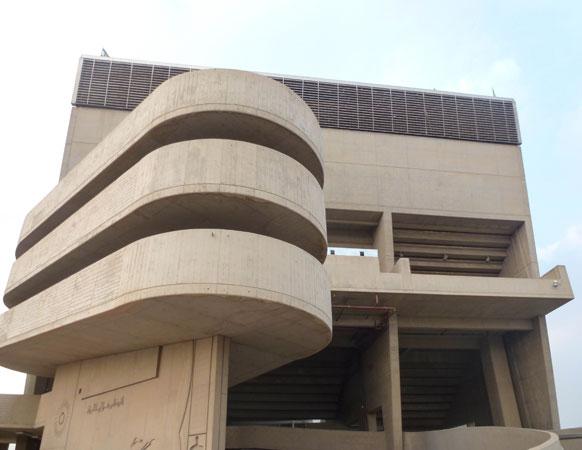 Stade Al-shaab De Le Corbusier