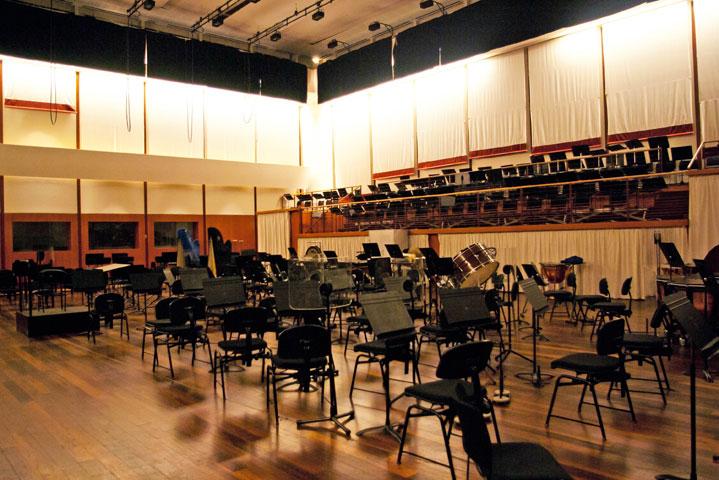 Liebermann Rehearsal Room At Opera Bastille Perrot Richard
